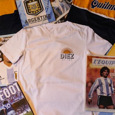 T-Shirt Maradona imprimé