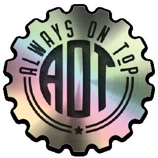 Hologram Cog Sticker