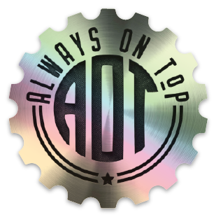 Hologram Cog Sticker