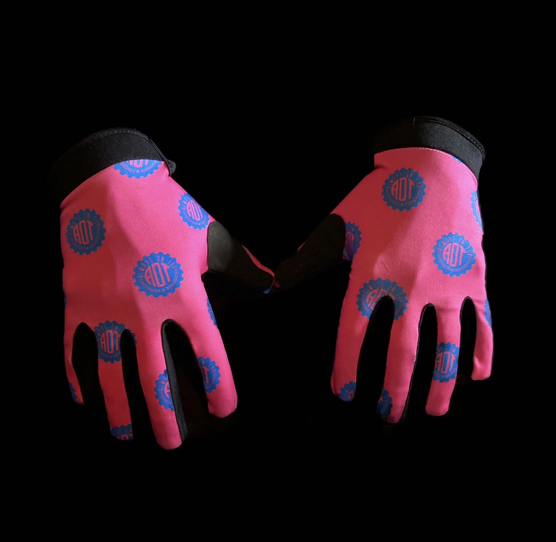 Pink Cog Glove