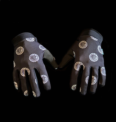 Black Cog Glove