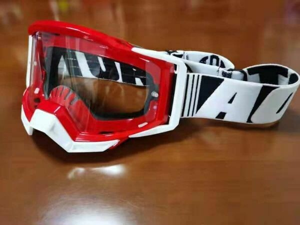 White/Red TBN Goggle