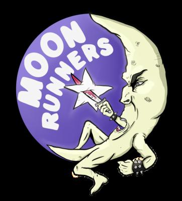Moon Runners - Sticker
