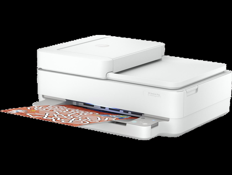 Impresora Inalámbrica Todo-en-uno HP Deskjet Plus Ink Advantage 6475