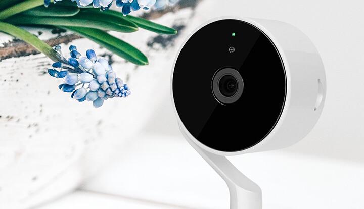 Cámara inteligente Wi-Fi para interior