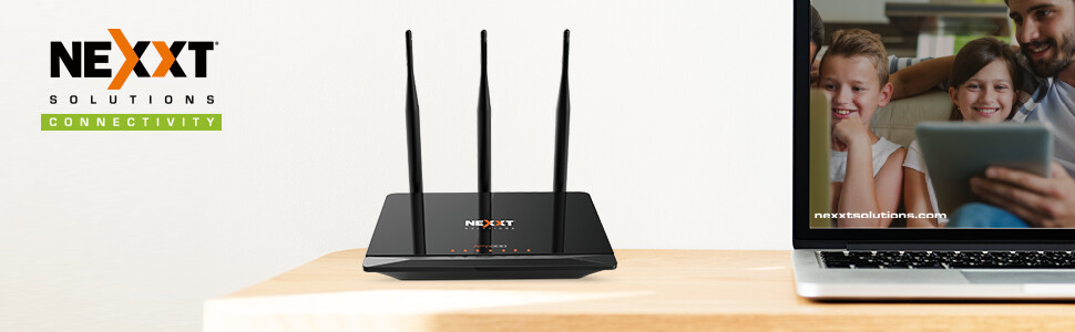 Router Inalámbrico-N de Alta Potencia 300Mbps | Nexxt