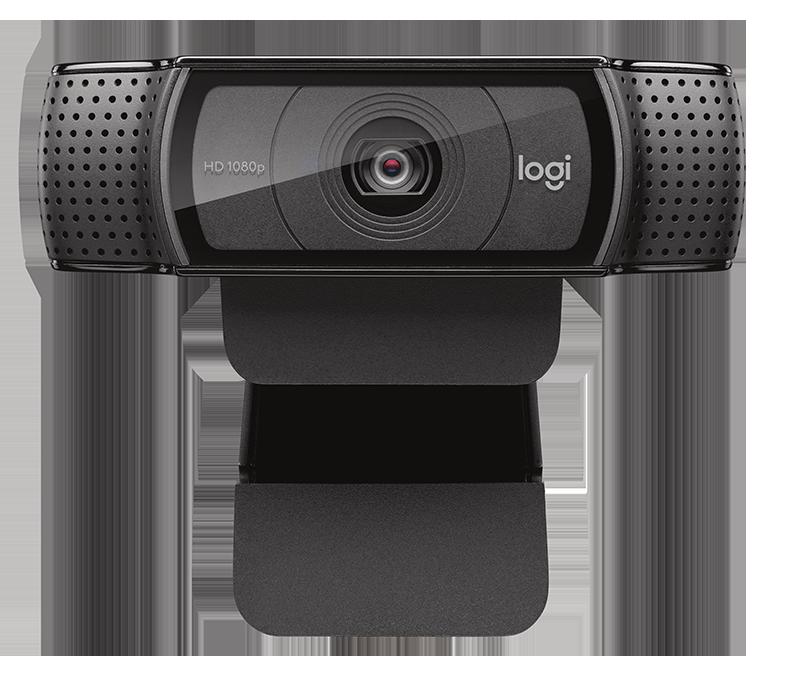LOGITECH | C920 HD PRO WEBCAM | 1080p con audio estéreo