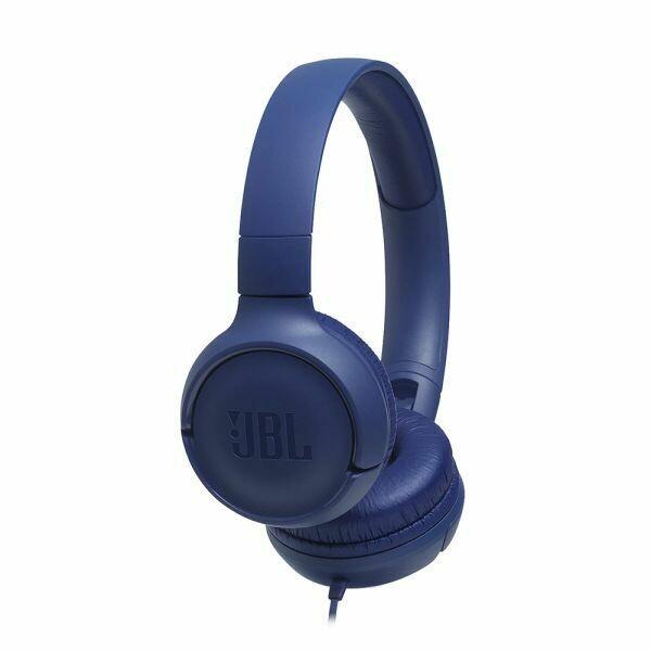 JBL TUNE 500 | Auriculares supraaurales con cable | AZUL