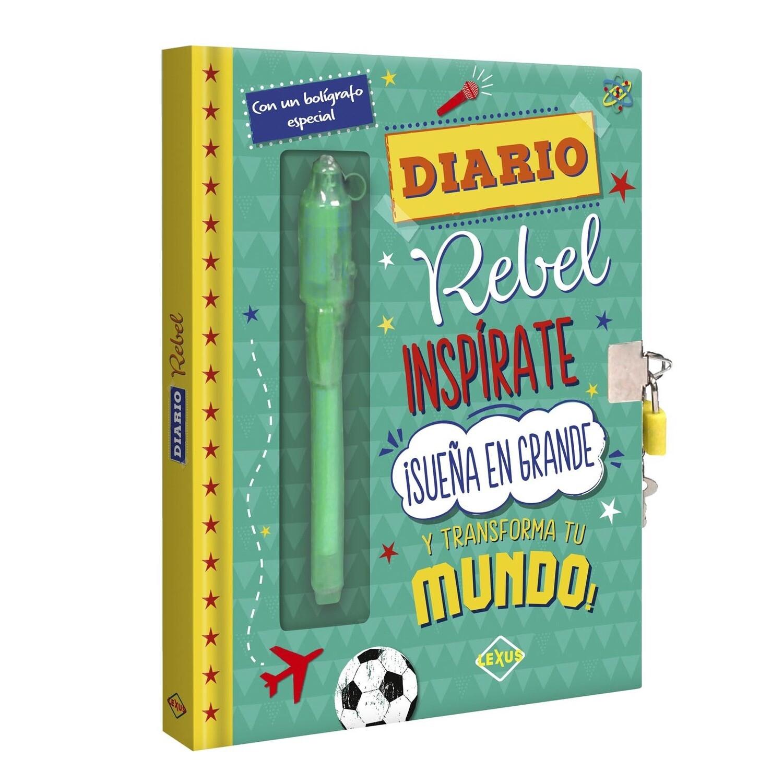 Diario Rebel Inspirate y transforma tu Mundo + bolígrafo mágico