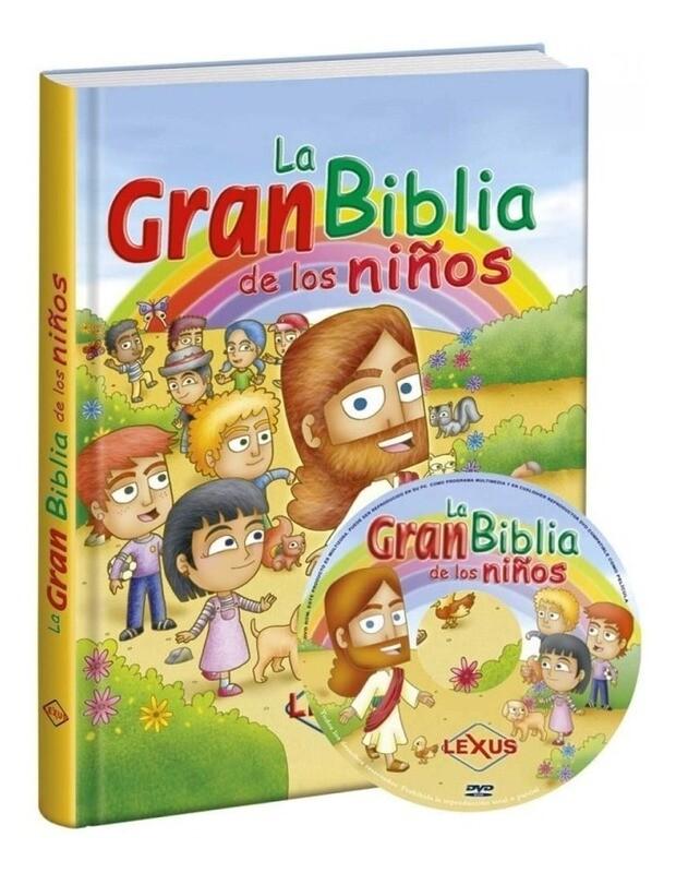 La Gran biblia de los niños 1 tomo + DVD