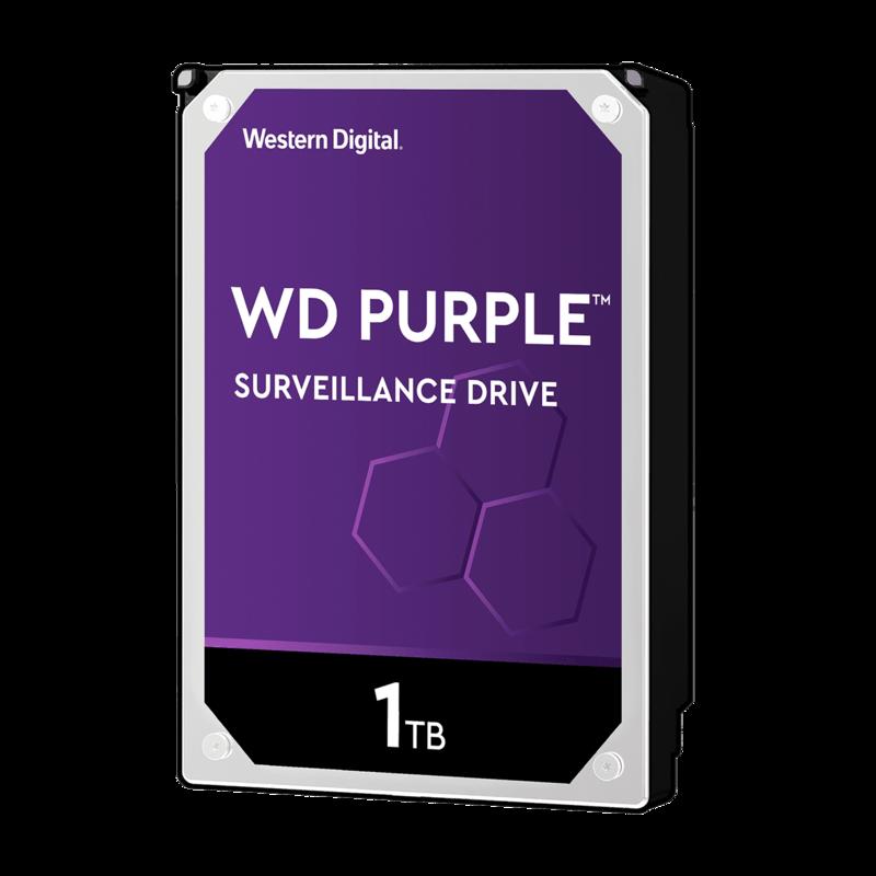 Disco Duro para sistemas de videovigilancia | WD Purple Surveillance | 1 TB