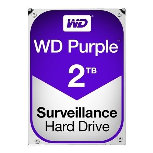 Disco Duro para sistemas de videovigilancia | WD Purple Surveillance | 2 TB