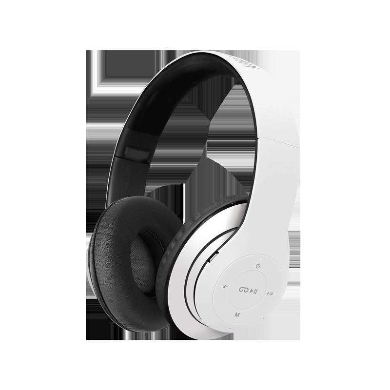 Audífonos con micrófono y tecnología inalámbrica PULSE | BLANCO
