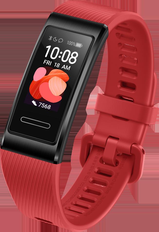 Reloj Inteligente | Huawei Band 4 Pro | Color Rojo | Pantalla AMOLED