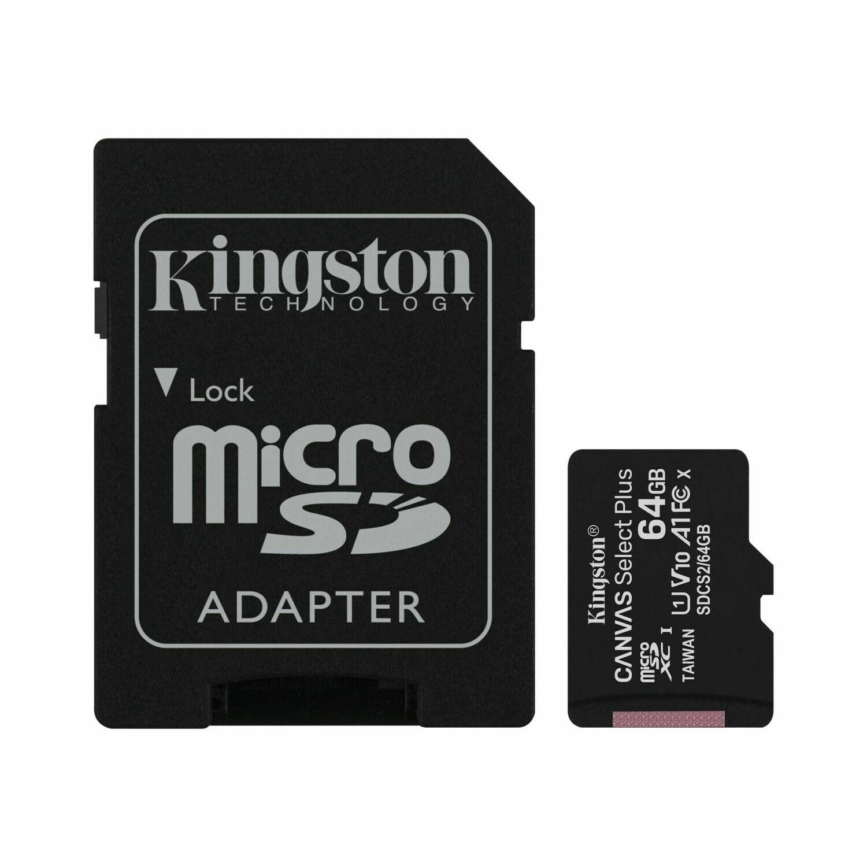 Tarjeta microSD 64GB | KINGSTON