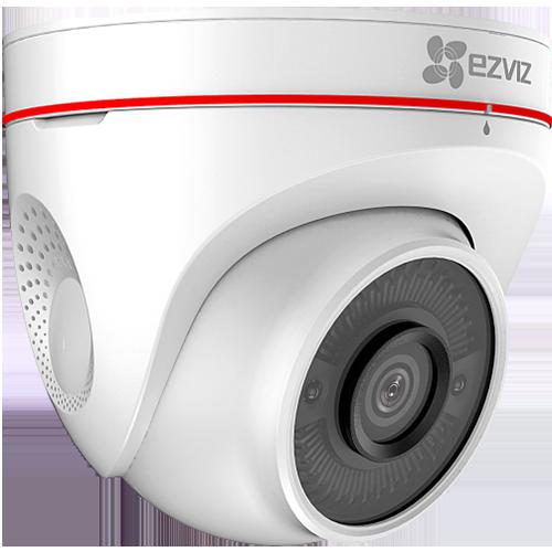 Cámara de monitoreo inteligente Wi-Fi con defensa activa de sonido y luz
