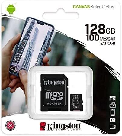 Tarjeta microSD 128GB | KINGSTON