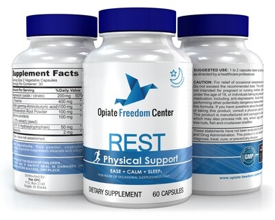 REST - For Occasional Sleep and to Support Body Aches
