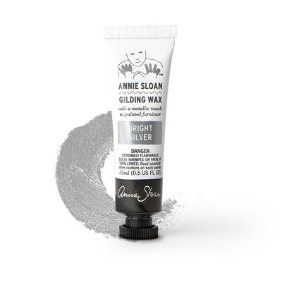 Bright Silver Annie Sloan Gilding Wax 15ml