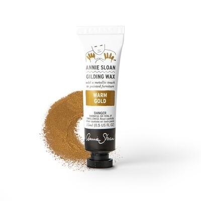 Warm Gold Annie Sloan Gilding Wax 15ml