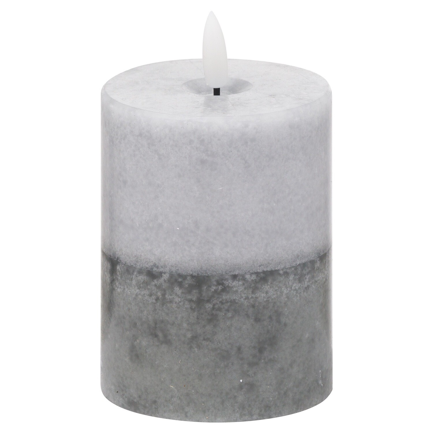 LUXE Collection Grey Dipped LED Candles