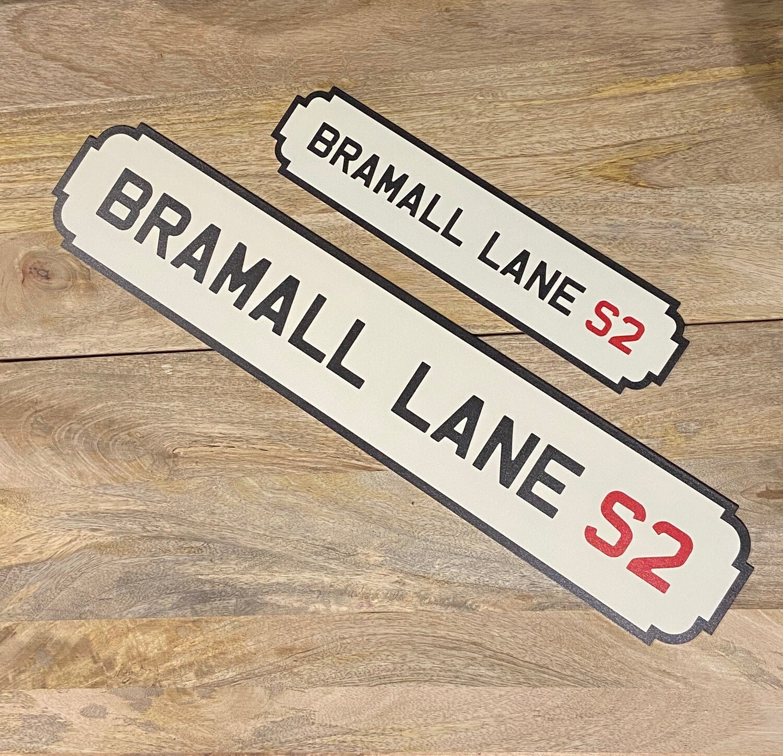 Bramall Lane Railway Sign