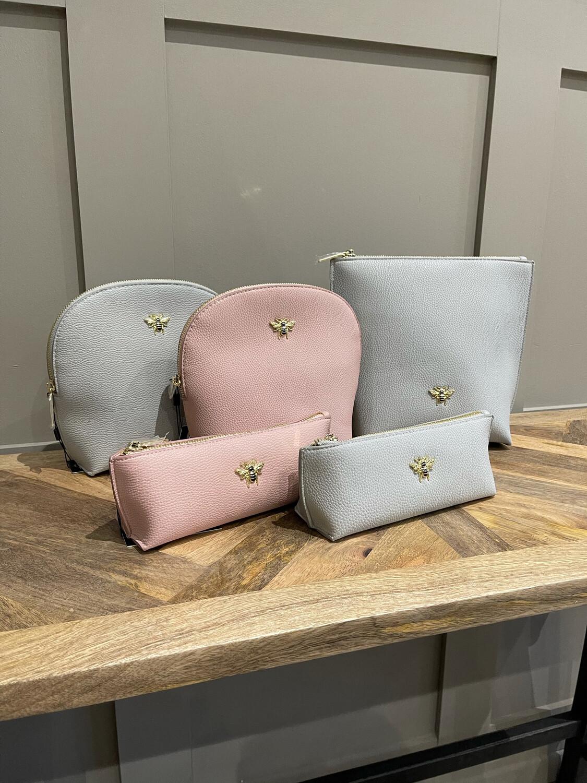 Large Square Cosmetics Bag