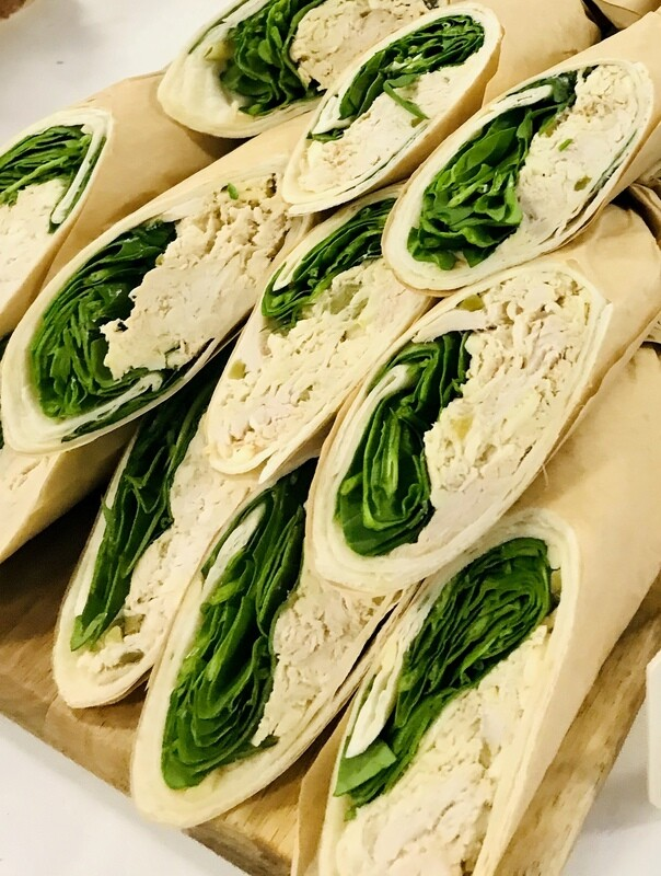 Chicken, Mozzarella and Pickle Wrap