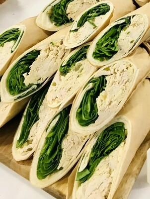Chicken, Mozzarella and Pickle Wrap