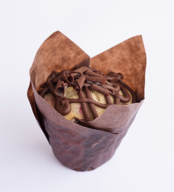 Chocolate chip mini muffins (12)