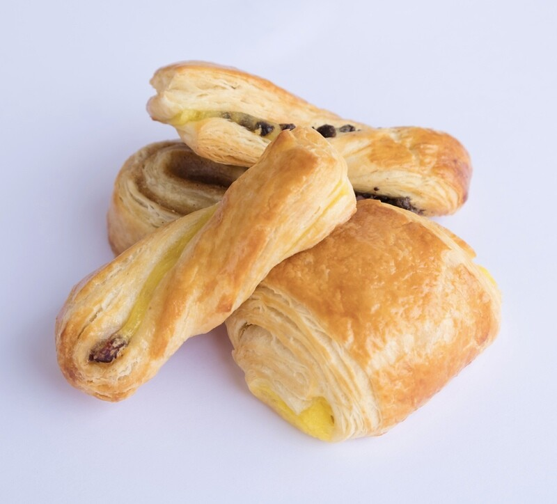 Danish pastry selection (20)