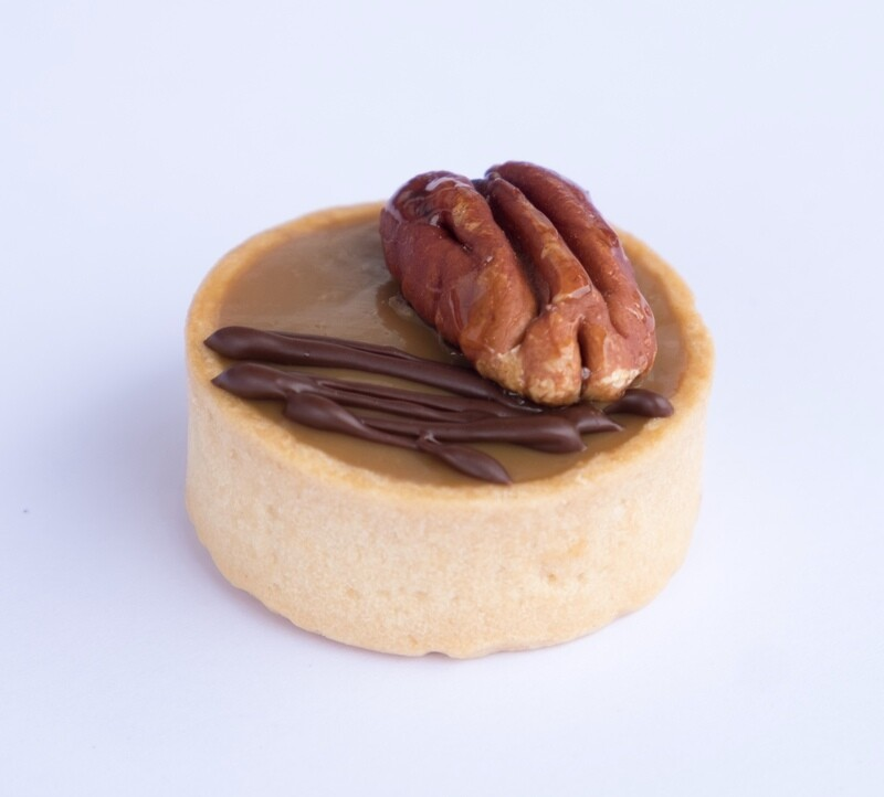 Bourbon caramel and maple candied pecan (20)