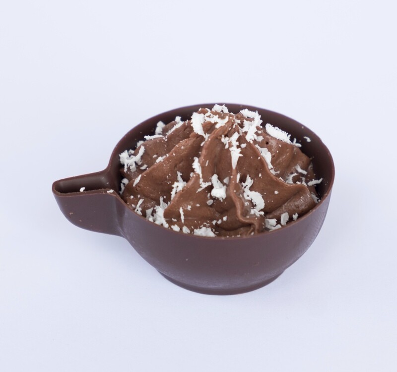 Dark Chocolate mousse cup (20)