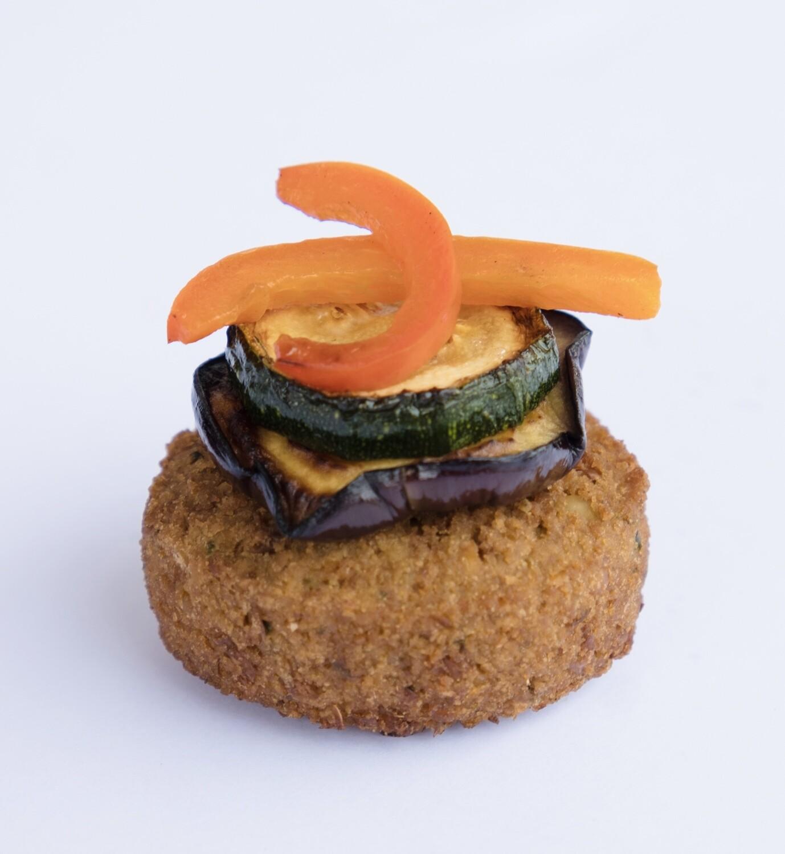 Falafel and vegetable stack (20) - V