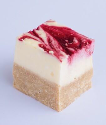 Raspberry and coconut NY cheesecake (20)