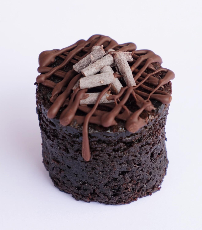 Vegan dark chocolate cylinder cake GF (20) - V