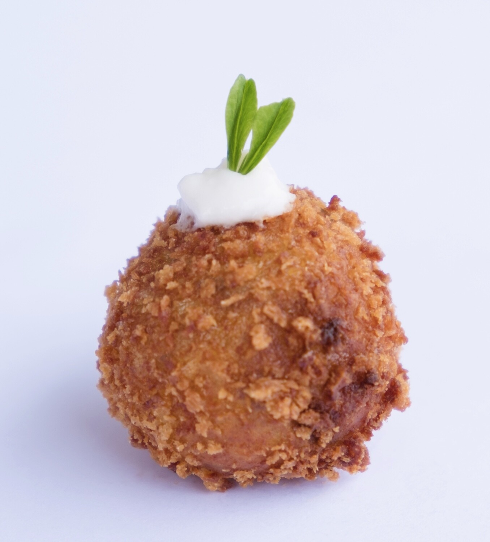 Porcini mushroom aranccini balls (24) - Vege