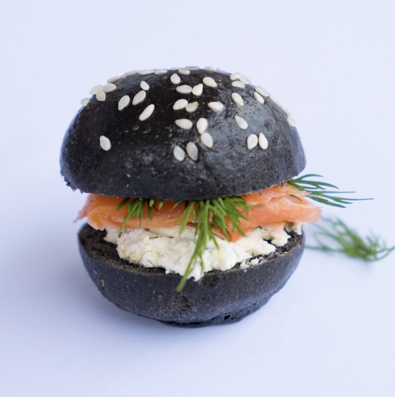 Smoked trout mini slider (20)