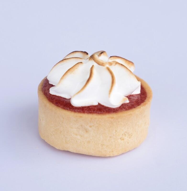 Raspberry Gel Meringue tart (20)