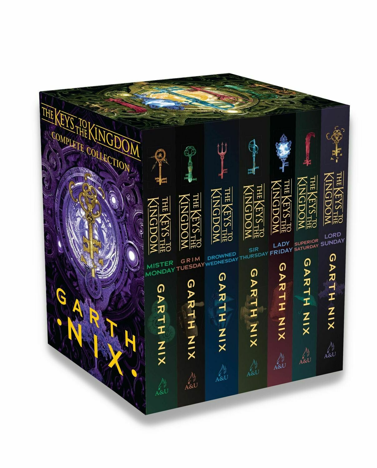 Keys to the Kingdom complete collection by Garth Nix