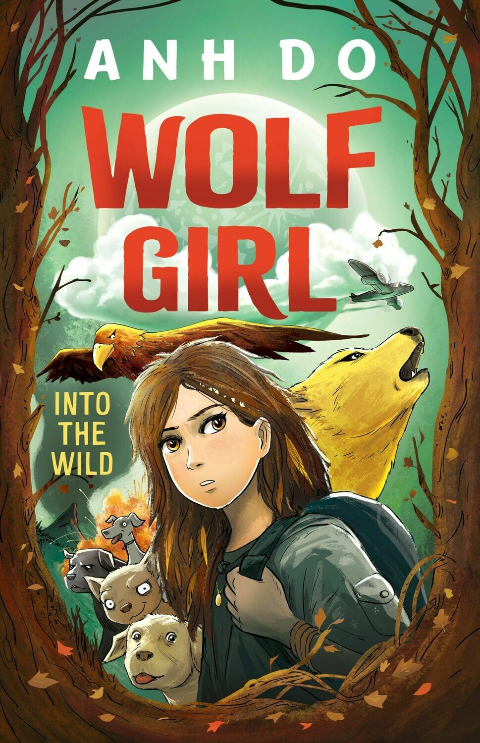 Wolf Girl 1 by Anh Do