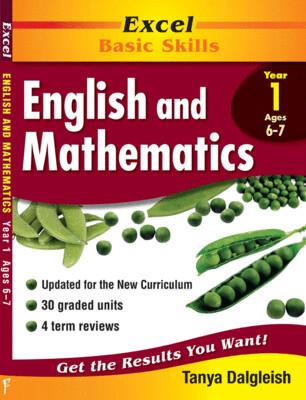 Excel Basic Skills - English and Mathematics Year 1 (pre-order)