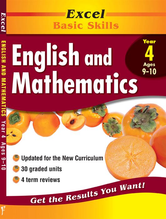 Excel Basic Skills - English and Mathematics Year 4 (pre-order)