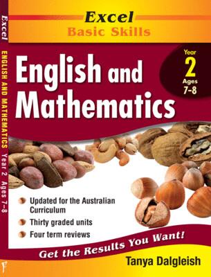 Excel Basic Skills - English and Mathematics Year 2 (pre-order)