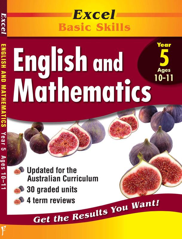 Excel Basic Skills - English and Mathematics Year 5 (pre-order)
