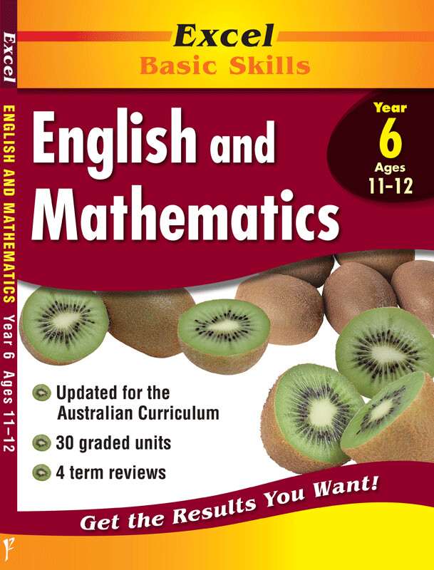 Excel Basic Skills - English and Mathematics Year 6 (pre-order)