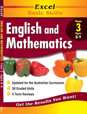 Excel Basic Skills - English and Mathematics Year 3 (pre-order)