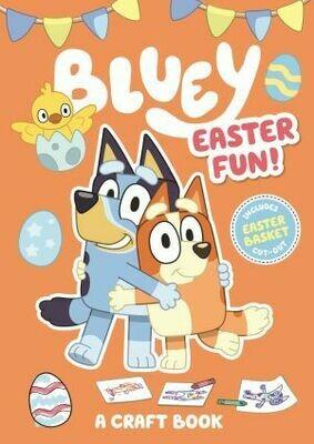 Bluey Easter Fun Craft book