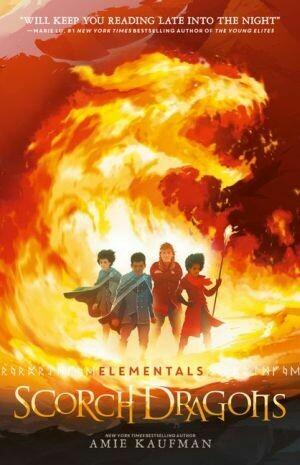 Scorch Dragons (Elementals #2) Amie Kaufman