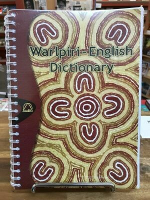 Warlpiri-English Dictionary spiralbound